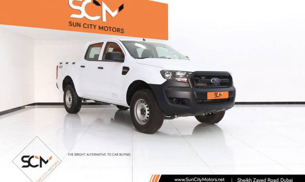 FORD RANGER BASE DC 4X4 HIGH PICK-UP (White)