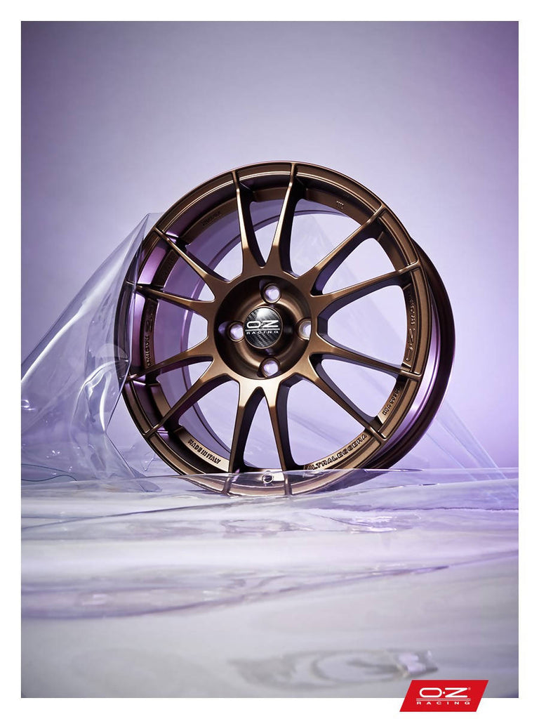 OZ ULTRALEGGERA HLT CL RACE GOLD WHEEL