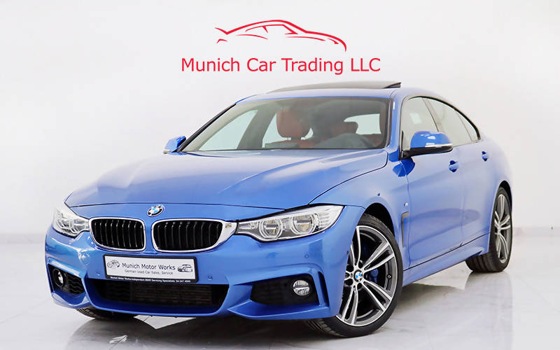 BMW 435i Gran Coupe M Sport 2016 GCC – Warranty/FSH/Fully Loaded!