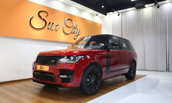 RANGE ROVER VOGUE HSE (Red)