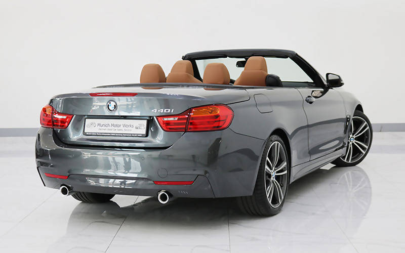 BMW 440i Convertible M Sport 2017 GCC