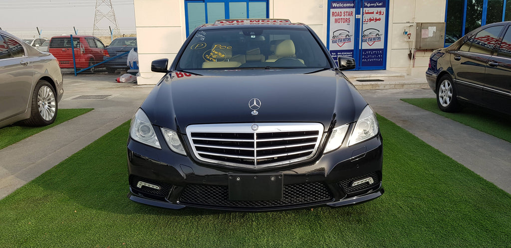 E350 AMG KIT - 2011- 68262 KM - JAPAN IMPORTED SUPPER CLEAN CAR - COMPREHENSIVE MAINTENANCE - NEW TIRES
