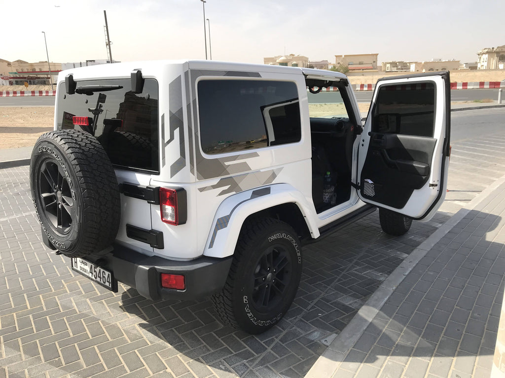 Jeep Wrangler 2017 Sahara Special Edition in Brand New Condition