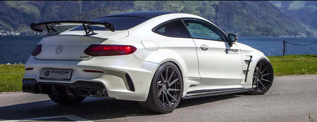 Prior Design Aero Kit For Mercedes C Class Coupe