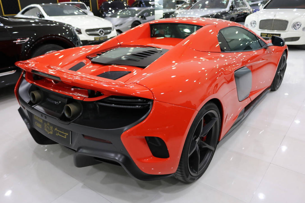 Mclaren 675LT Spider, 2016, 6,000KMs Only, Full Carbon F Interior N Exterior, GCC, *SPECIAL EDITION*