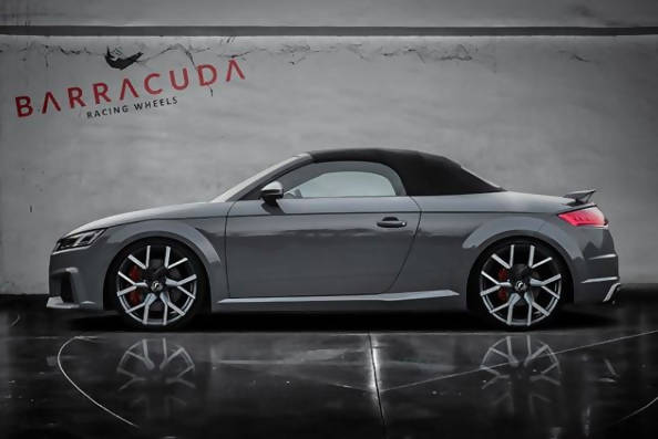 Audi TT 8S wheels - Barracuda Tzunamee EVO