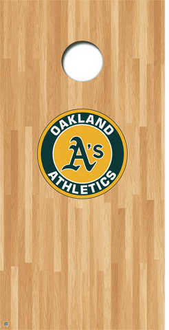 Oakland A's Cornhole Decals MLB Cornhole Decals Buy 2 Get 1 FREE