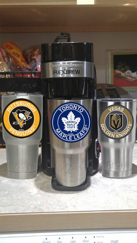 Image of MAPLE LEAFS Tumbler Decals fits 30oz & 20oz Tumblers Buy 2 Get 1 Free! Free Shipping!