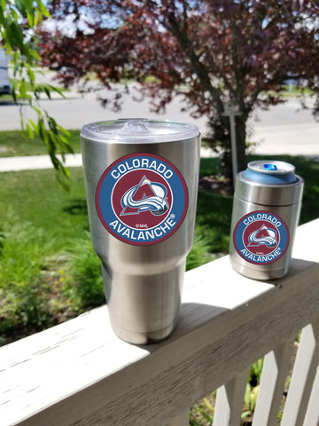 Colorado Avalanche Tumbler Decals fits 30oz & 20oz Tumblers Buy 2 Get 1 Free! Free Shipping!