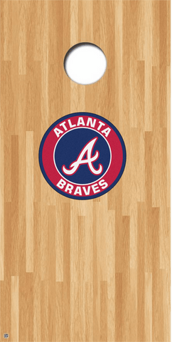 Atlanta Braves Cornhole Decals MLB Cornhole Decals Buy 2 Get 1 FREE