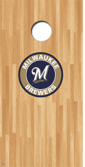 Milwaukee Brewers Cornhole Decals MLB Cornhole Decals Buy 2 Get 1 FREE