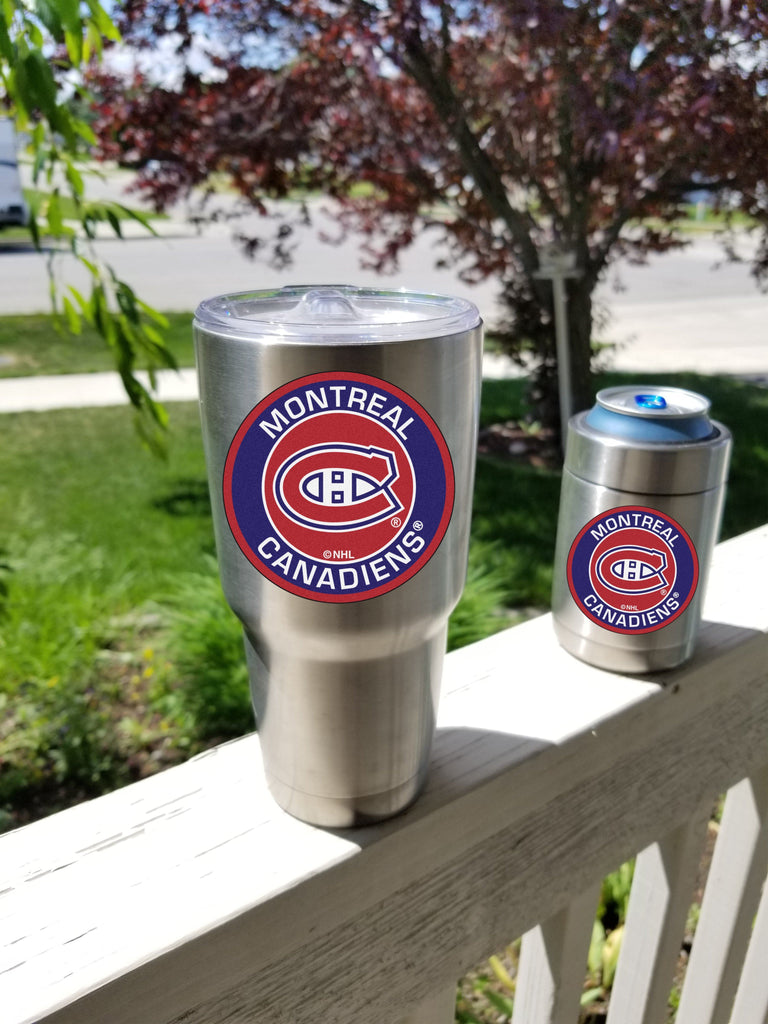 Canadiens Tumbler Decals fits 30oz & 20oz Tumblers Buy 2 Get 1 Free! Free Shipping!