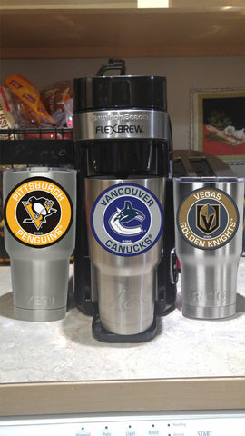 Canucks Tumbler Decals fits 30oz & 20oz Tumblers Buy 2 Get 1 Free! Free Shipping!