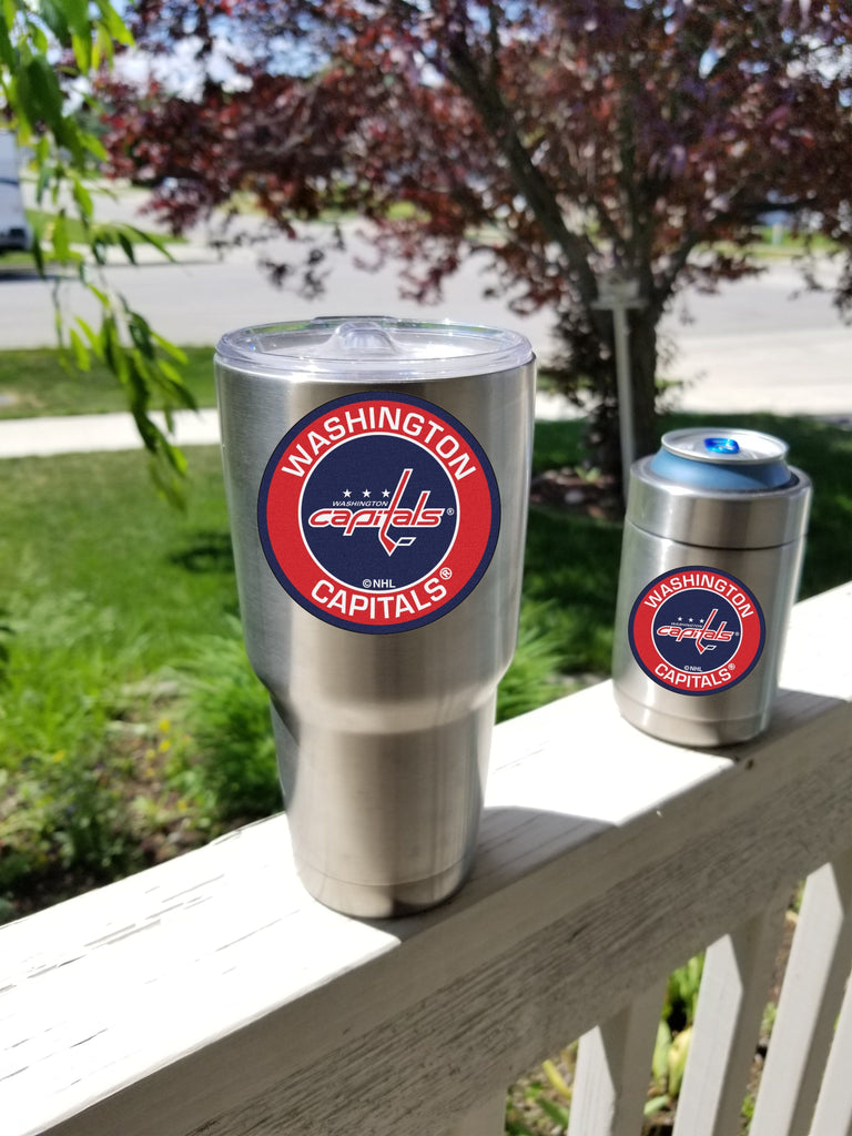 CAPITALS Tumbler Decals fits 30oz & 20oz Tumblers Buy 2 Get 1 Free! Free Shipping!