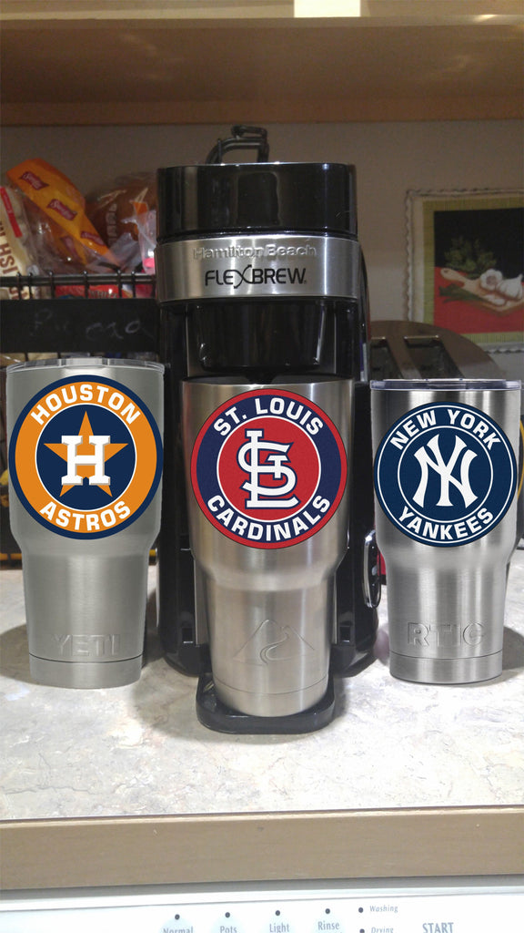 St Louis Cardinals Tumbler Vinyl Decal fits 30oz & 20oz Tumblers Buy 2 Get 1 Free! Free Shipping!