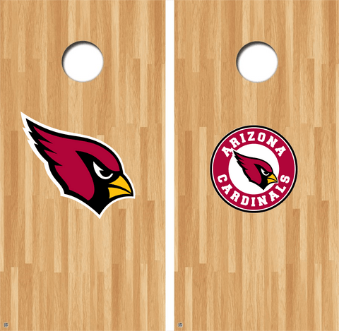 Arizona Cardinals Cornhole Decals NFL Cornhole Decals Buy 2 Get 1 FREE