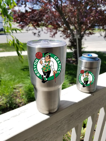 Boston Celtics Tumbler Decals fits 30oz & 20oz Tumblers Buy 2 Get 1 Free! Free Shipping!