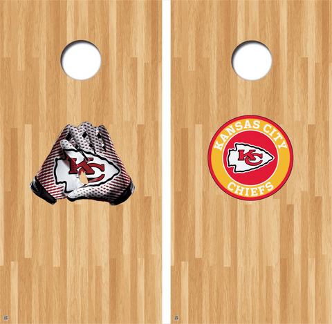 Kansas City Chiefs Cornhole Decals NFL Cornhole Decals Buy 2 Get 1 FREE