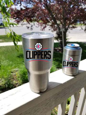 CLIPPERS Tumbler Decals fits 30oz & 20oz Tumblers Buy 2 Get 1 Free! Free Shipping!