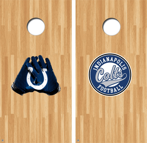 Indianapolis Colts Cornhole Decals NFL Cornhole Decals Buy 2 Get 1 FREE!