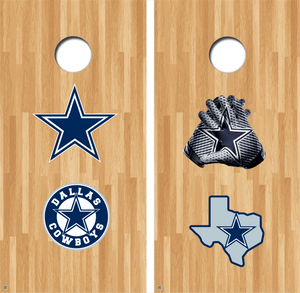 Dallas Cowboys Cornhole Decals NFL Cornhole Decals Buy 2 Get 1 FREE Free Shipping