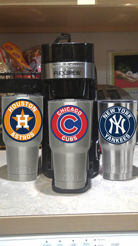 Chicago Cubs Tumbler Decals fits 30oz & 20oz Tumblers Buy 2 Get 1 Free! Free Shipping!