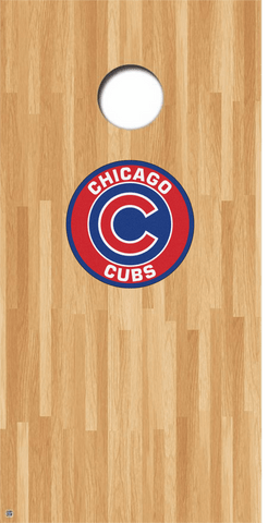 Chicago Cubs Cornhole Decals MLB Cornhole Decals Buy 2 Get 1 FREE