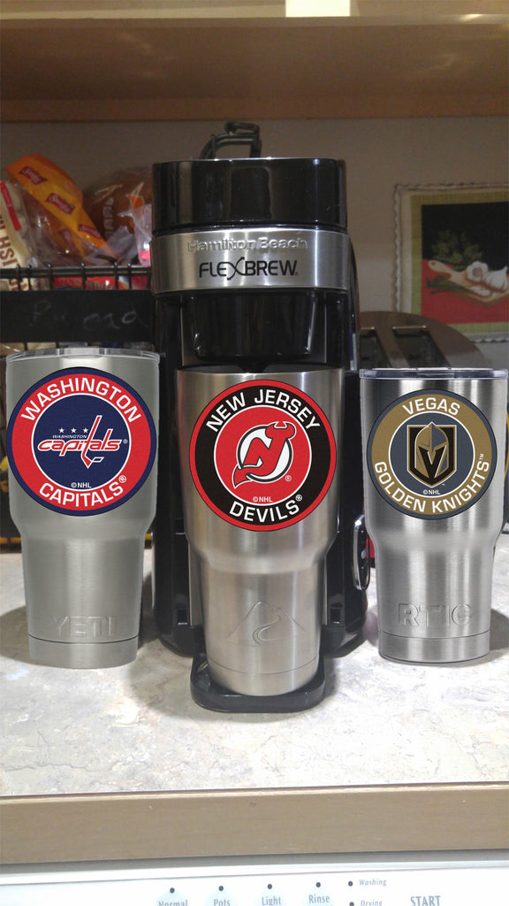 DEVILS Tumbler Decals fits 30oz & 20oz Tumblers Buy 2 Get 1 Free! Free Shipping!