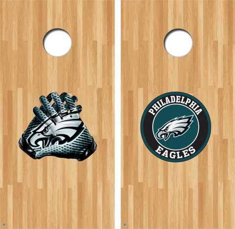 Philadelphia Eagles Cornhole Decals NFL Cornhole Decals Buy 2 Get 1 FREE