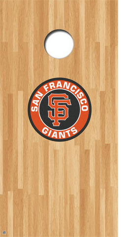 San Francisco Giants Cornhole Decals MLB Cornhole Decals Buy 2 Get 1 FREE