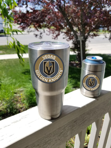 Image of GOLDEN KNIGHTS Tumbler Decals fits 30oz & 20oz Tumblers Buy 2 Get 1 Free! Free Shipping!