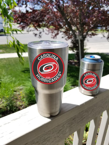 Image of HURRICANES Tumbler Decals fits 30oz & 20oz Tumblers Buy 2 Get 1 Free! Free Shipping!