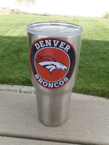 BRONCOS Tumbler Decals for 30oz & 20oz Tumbler Buy 2 Get 1 Free! Free Shipping!