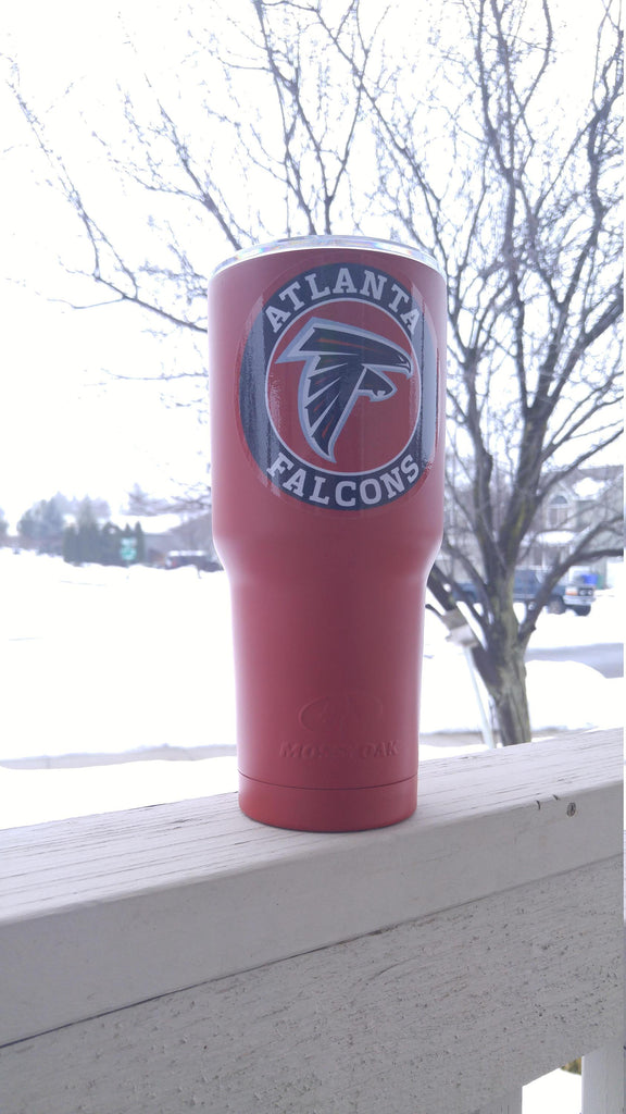 Falcons Tumbler Vinyl Decals fits 30oz & 20oz Tumblers Buy 2 Get 1 Free! Free Shipping!