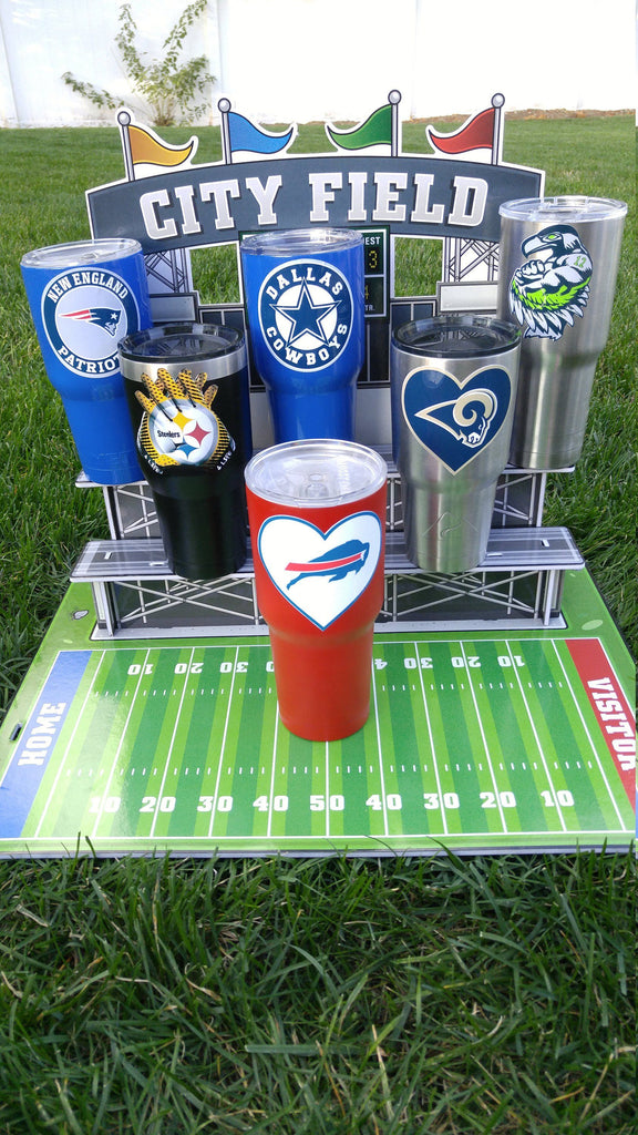 "New! Bills ""Heart"" Tumbler Vinyl Decals fits 30oz & 20oz Tumblers Buy 2 Get 1 Free! Free Shipping!"