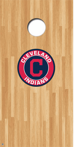 Cleveland Indians Cornhole Decals MLB Cornhole Decals Buy 2 Get 1 FREE