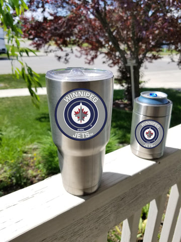 JETS Tumbler Decals fits 30oz & 20oz Tumblers Buy 2 Get 1 Free! Free Shipping!
