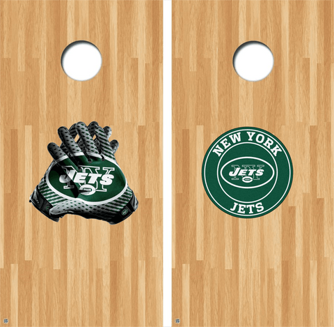 New York Jets Cornhole Decals, Jets Vinyl Decal, NFL Cornhole Decals Buy 2 Get 1 FREE!
