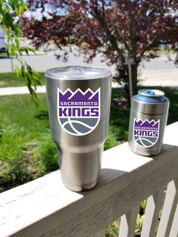 SACRAMENTO KINGS Tumbler Vinyl Decal fits 30oz & 20oz Tumblers Buy 2 Get 1 Free! Free Shipping!