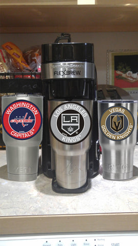KINGS Tumbler Decals fits 30oz & 20oz Tumblers Buy 2 Get 1 Free! Free Shipping!
