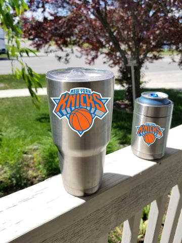 NEW YORK KNICS Tumbler Vinyl Decals fits 30oz & 20oz Tumblers Buy 2 Get 1 Free!