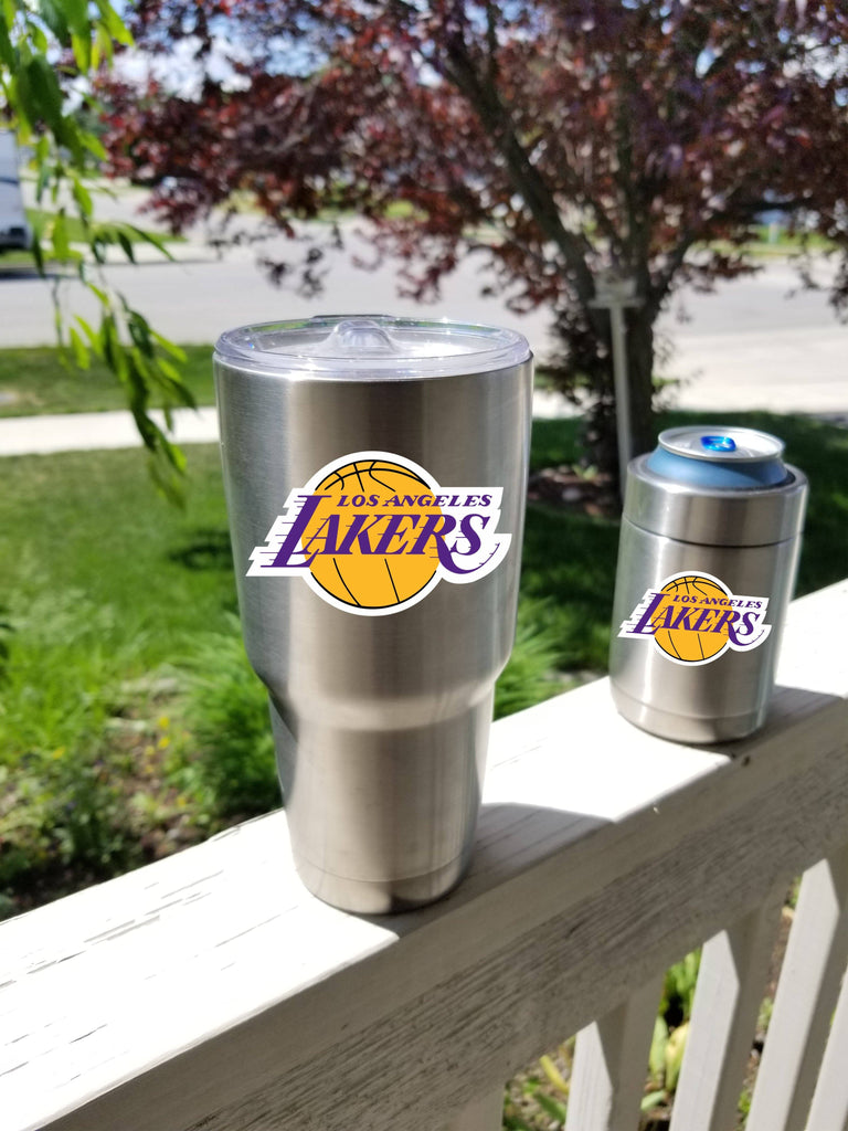 LAKERS Tumbler Vinyl Decals fits 30oz & 20oz Tumblers Buy 2 Get 1 Free! Free Shipping!