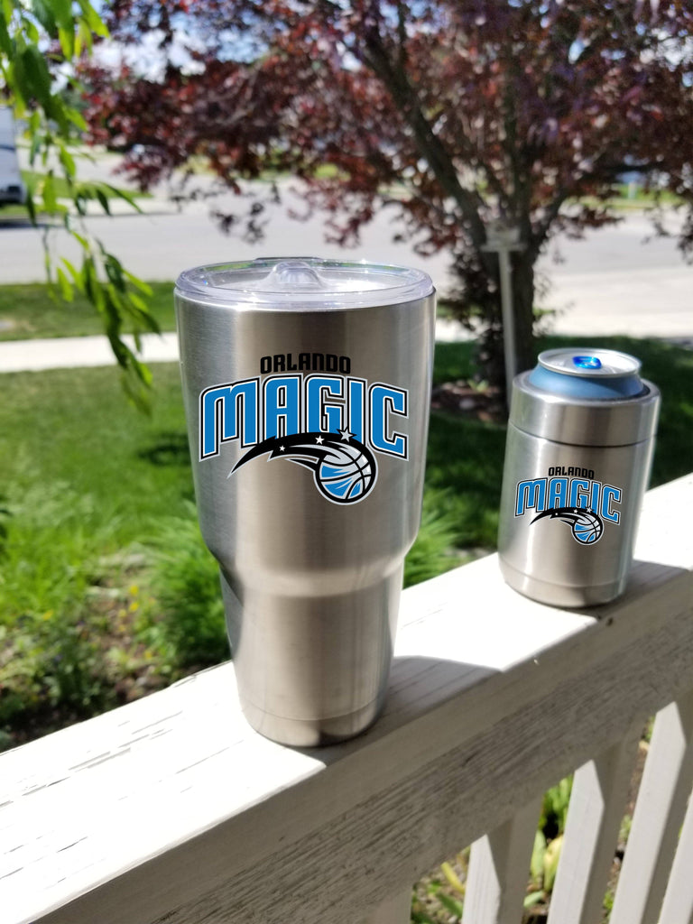 Orlando Magic Tumbler Vinyl Decal fits 30oz & 20oz Tumblers Buy 2 Get 1 Free! Free Shipping!
