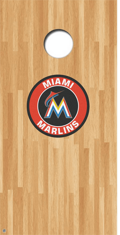 Florida Marlins Cornhole Decals MLB Cornhole Decals Buy 2 Get 1 FREE