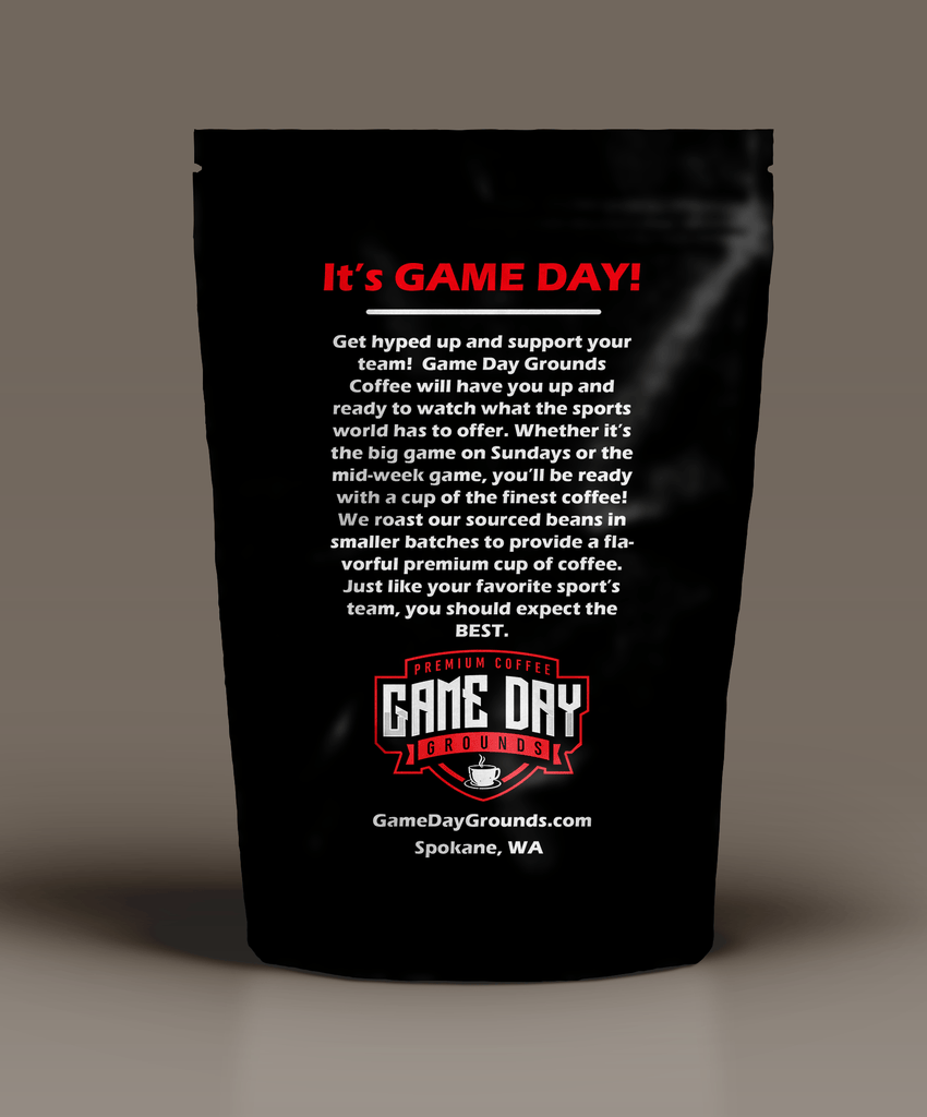 Game Day Grounds Premium Coffee, Espresso Roast, 12 Ounce, Fair Trade Certified