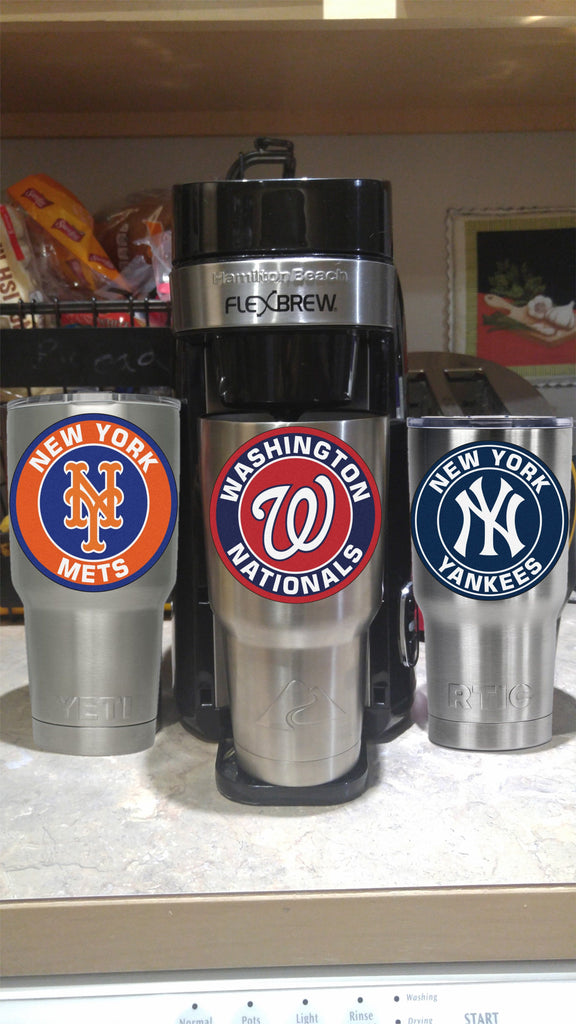 Washington Nationals Tumbler Vinyl Decals fits 30oz & 20oz Tumblers Buy 2 Get 1 Free! Free Shipping!