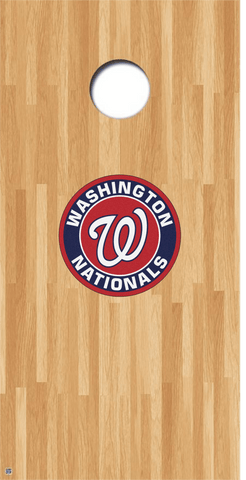 Washington Nationals Cornhole Decals MLB Cornhole Decals Buy 2 Get 1 FREE