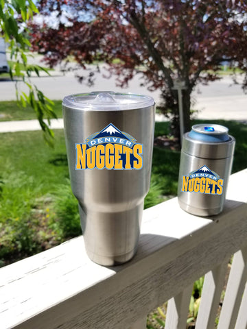 Denver Nuggets Tumbler Decals fits 30oz & 20oz Tumblers Buy 2 Get 1 Free! Free Shipping!