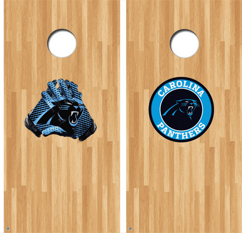 Carolina Panthers Cornhole Decals, Panthers Vinyl Decal, NFL Cornhole Decals Buy 2 Get 1 FREE!