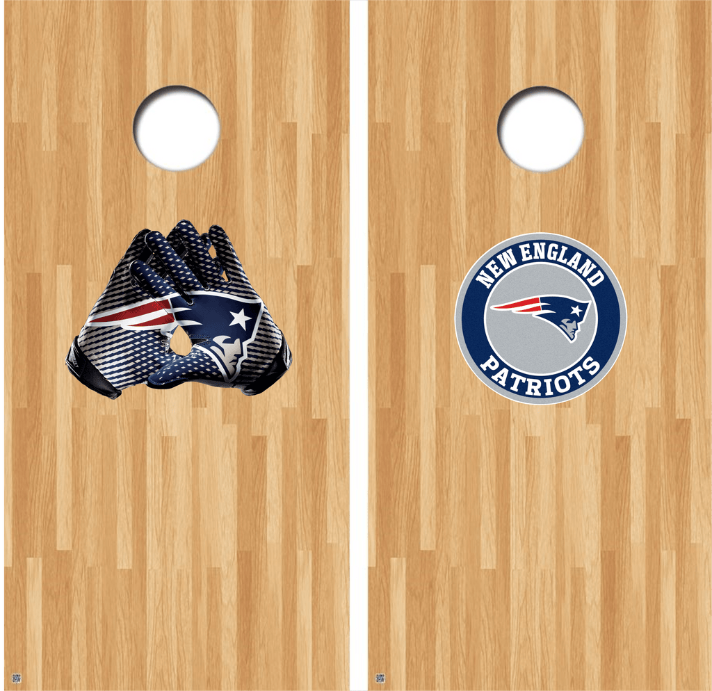 New England Patriots Cornhole Decals NFL Cornhole Decals Buy 2 Get 1 FREE